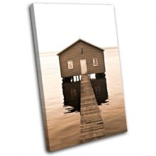 Lake Jetty Pier Sunset Seascape - 13-1842(00B)-SG32-PO
